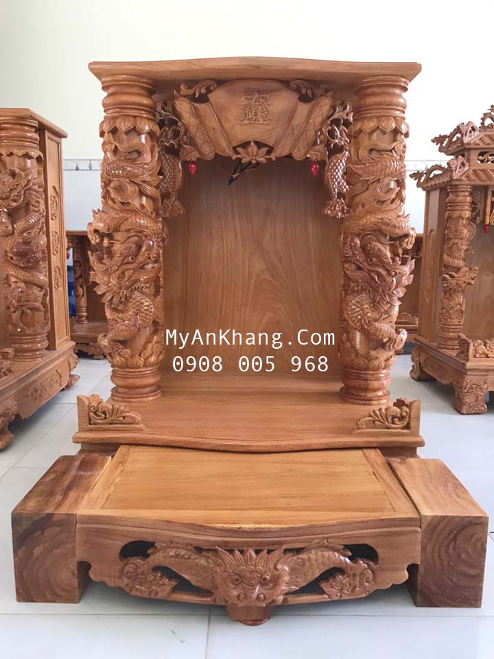 Bàn thờ thần tài ông địa đẹp tại Phan Thiết Bình Thuận