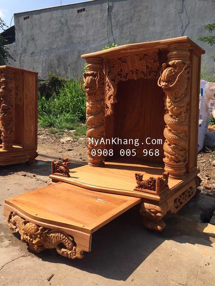Xưởng sản xuất bàn thờ thần tài đẹp tại quận 12, huyện Hóc Môn
