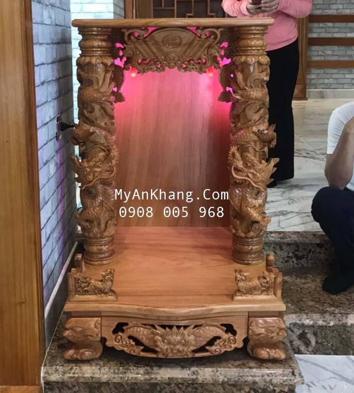 Bàn thờ thần tài ông địa đẹp tại Sa Đéc Đồng Tháp
