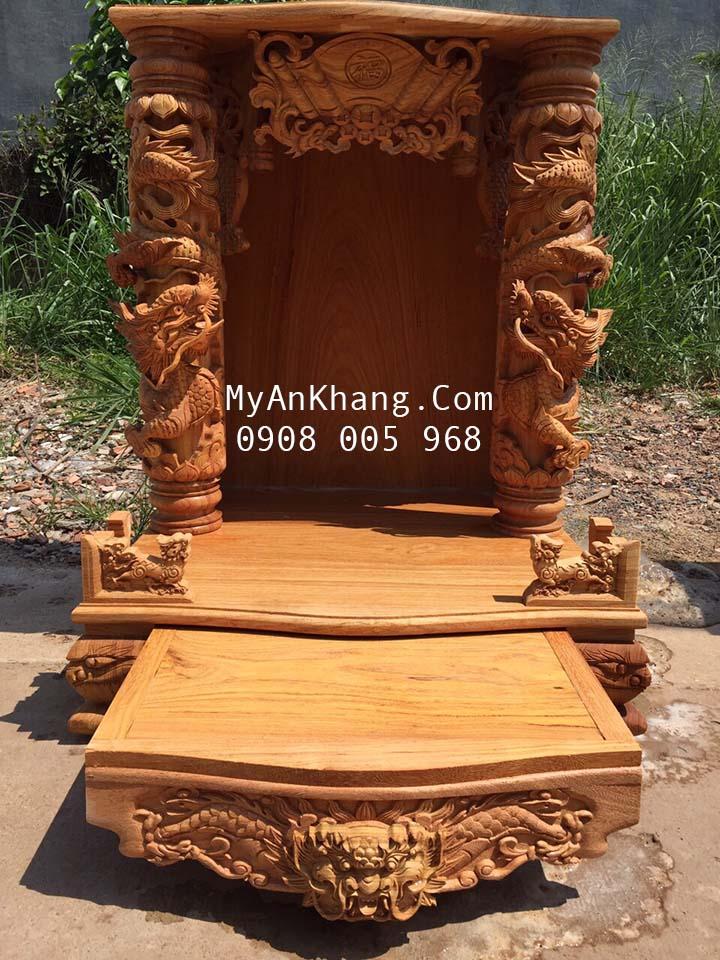Trang thờ thần tài đẹp tại Đồng Tháp