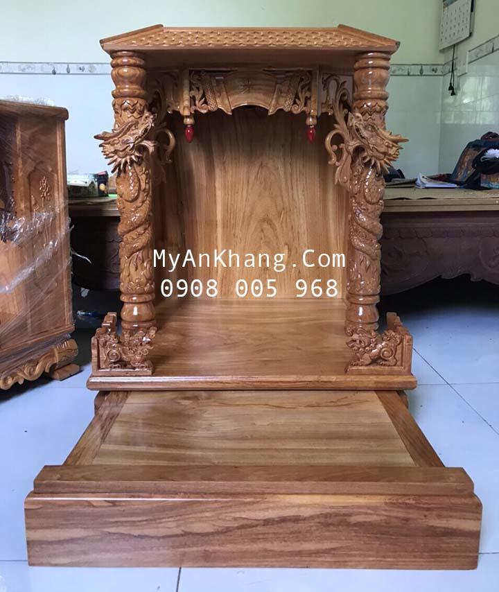 Tủ thờ thần tài ông địa đẹp tại TP Cao Lãnh, đồng tháp