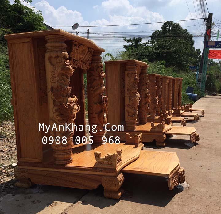 Xưởng sản xuất bàn thờ thần tài đẹp tại TPHCM